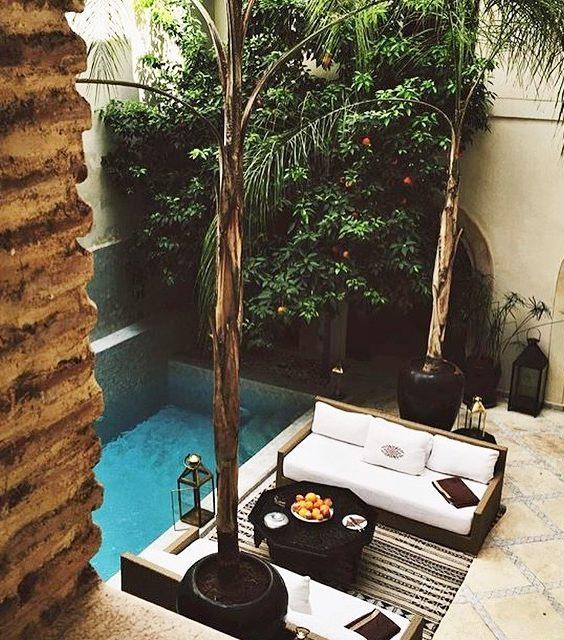 μικρή πισίνα στον κήπο27