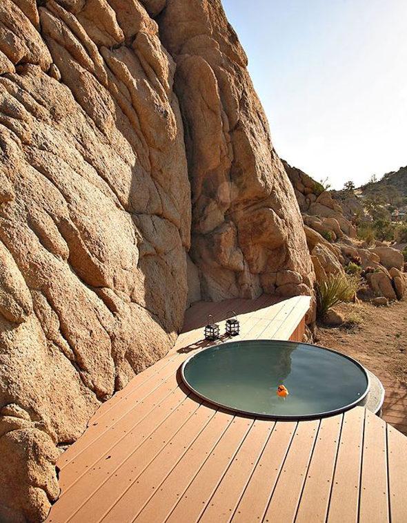 μικρή πισίνα στον κήπο5