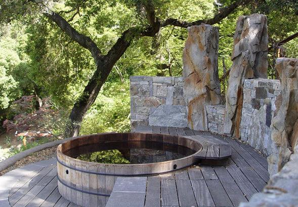 μικρή πισίνα στον κήπο8
