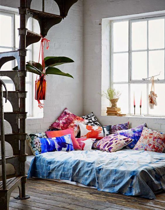 Κρεβάτι στο πάτωμα14