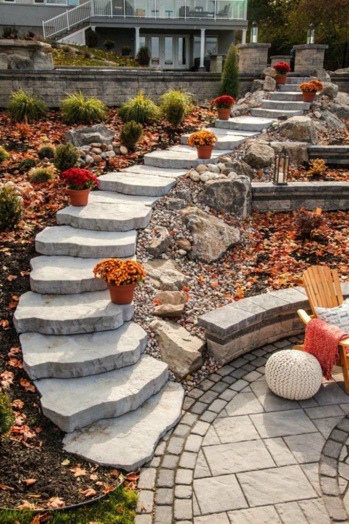 ιδέες διακόσμησης κήπου61