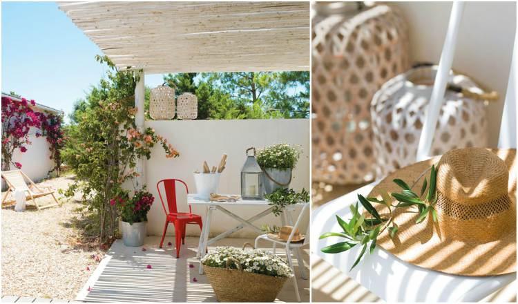 μεσογειακό καλοκαιρινό σπίτι