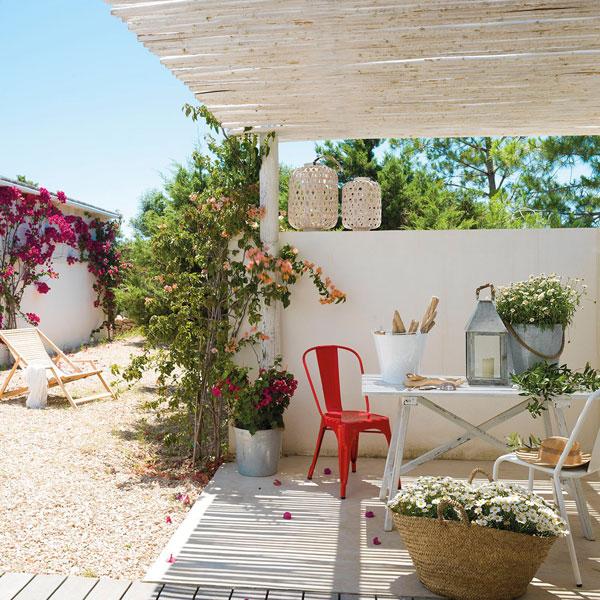 Μαγευτικό μεσογειακό καλοκαιρινό σπίτι στο όμορφο νησί Φορμεντέρα