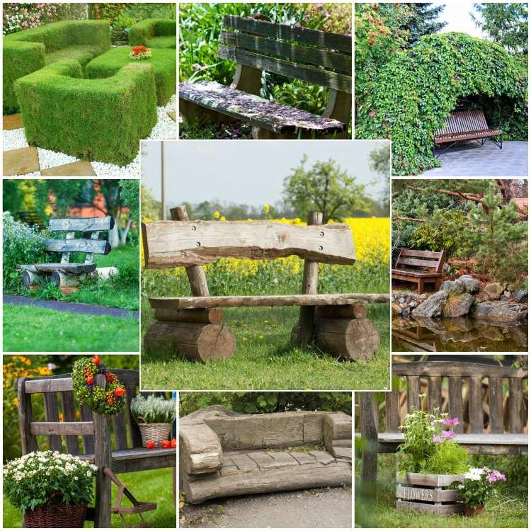παγκάκια κήπου
