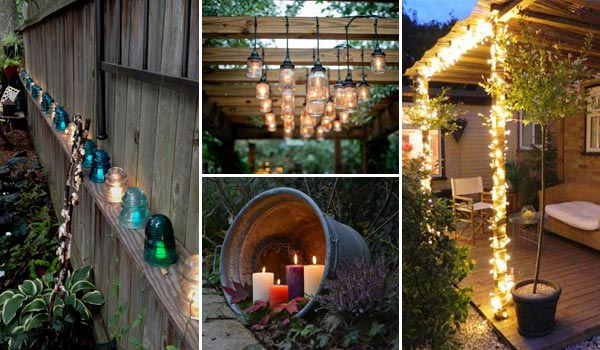 DIY Ιδέες προσθήκης φωτισμού αυλής