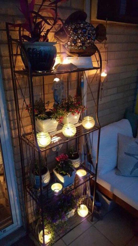 DIY Ιδέες προσθήκης φωτισμού αυλής1