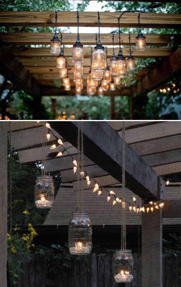 DIY Ιδέες προσθήκης φωτισμού αυλής13