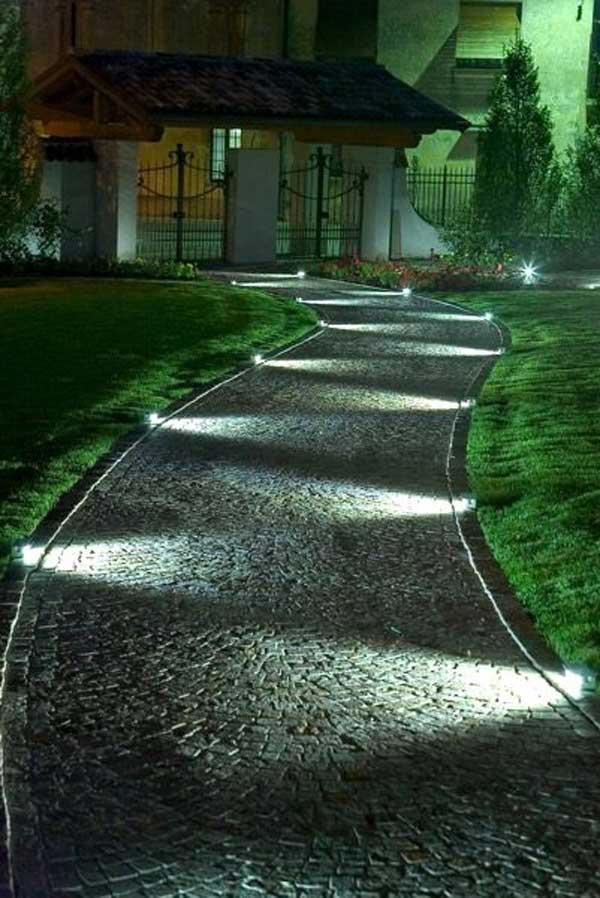 DIY Ιδέες προσθήκης φωτισμού αυλής14