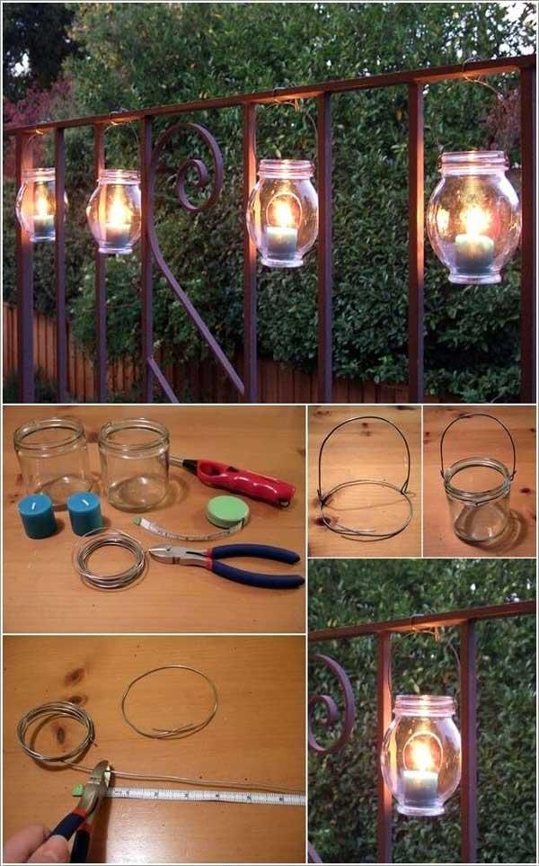 DIY Ιδέες προσθήκης φωτισμού αυλής18