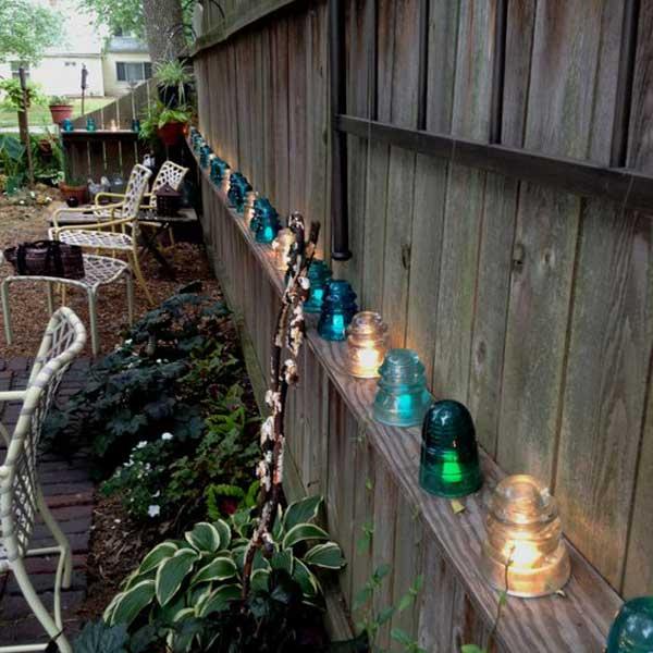 DIY Ιδέες προσθήκης φωτισμού αυλής20