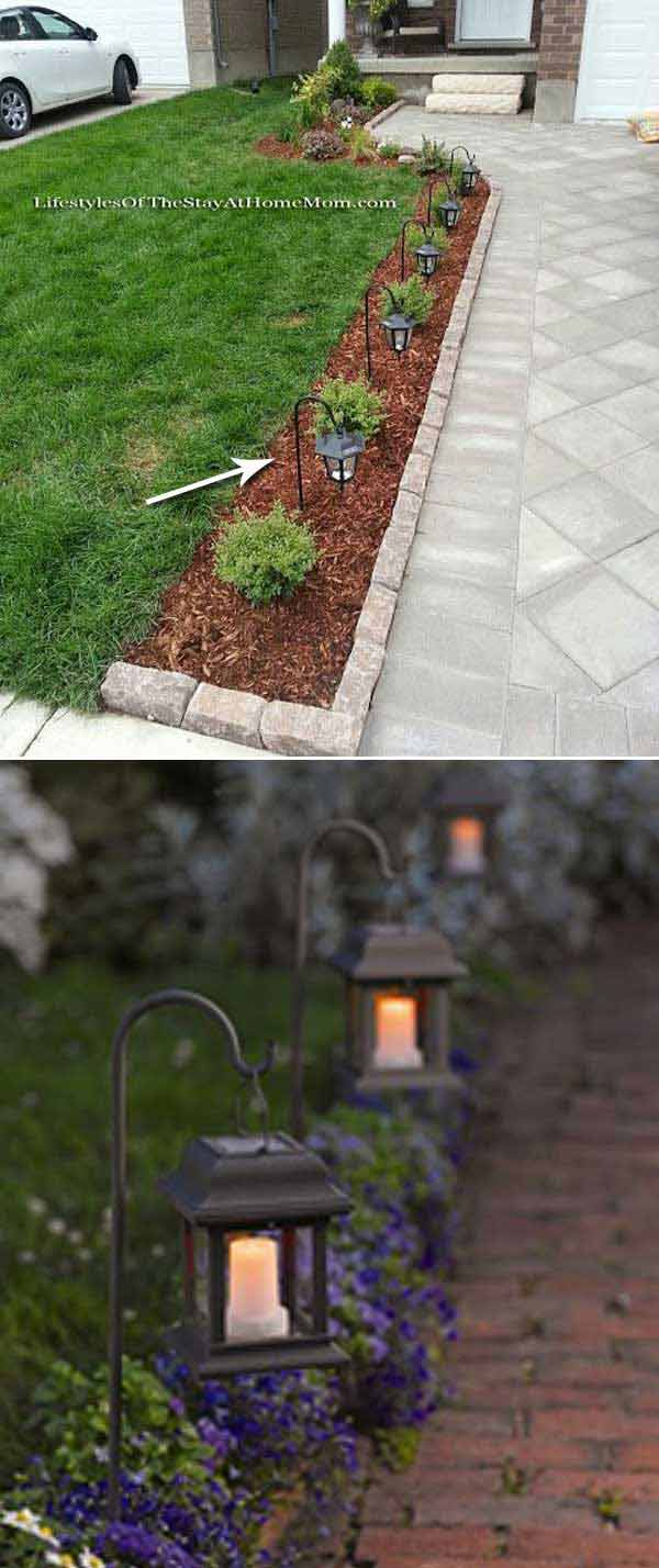 DIY Ιδέες προσθήκης φωτισμού αυλής22