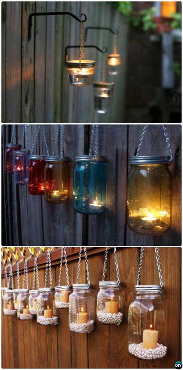 DIY Ιδέες προσθήκης φωτισμού αυλής8
