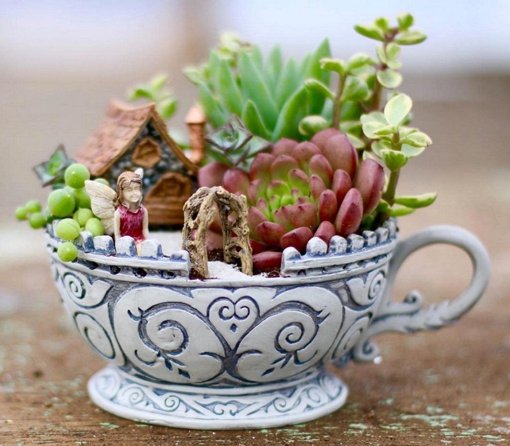 Diy μικροσκοπικοί κήποι1
