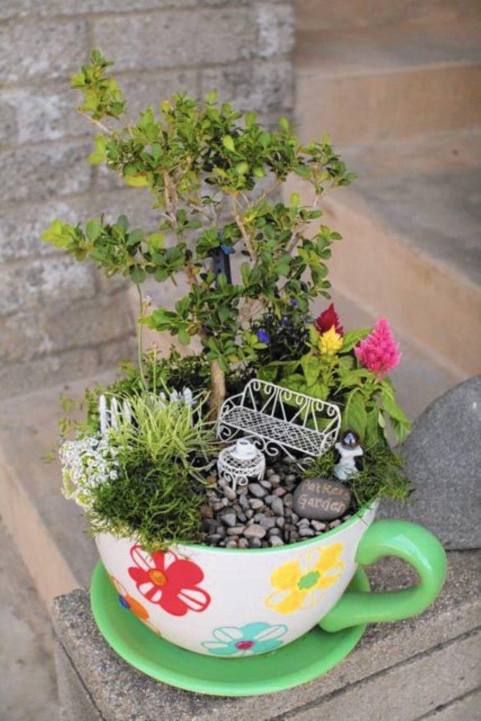 Diy μικροσκοπικοί κήποι4