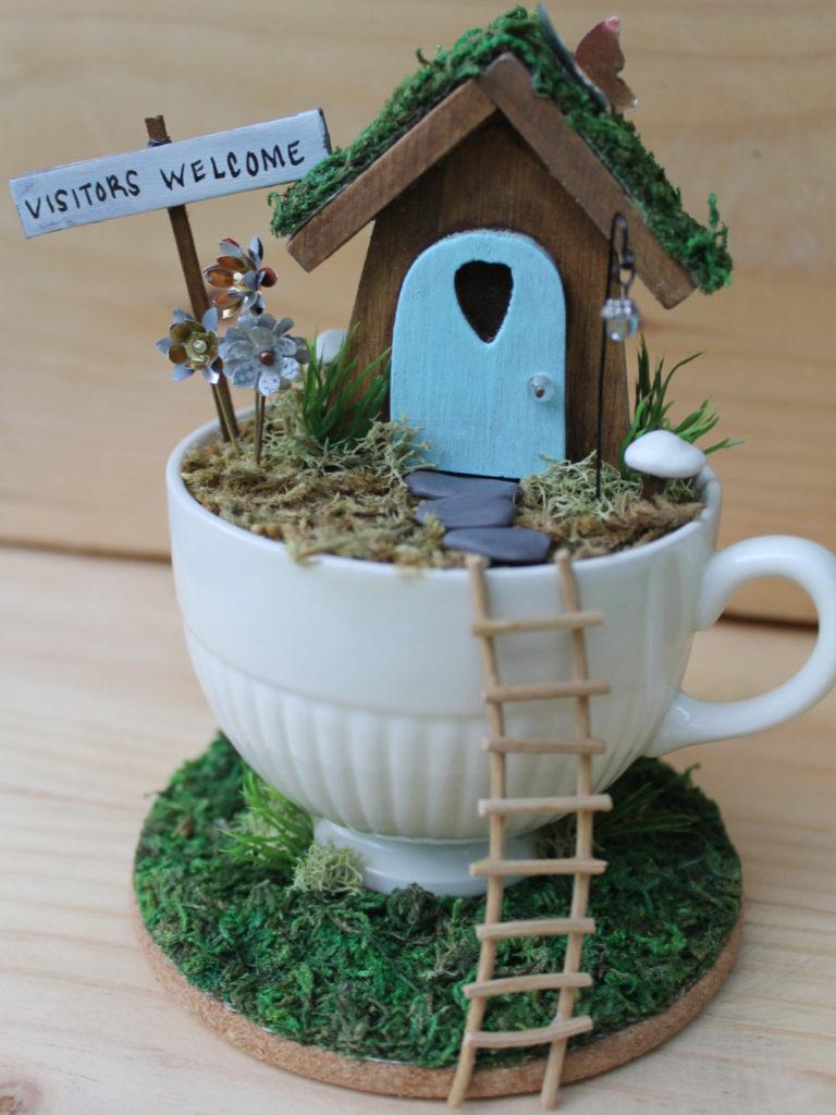 Diy μικροσκοπικοί κήποι7