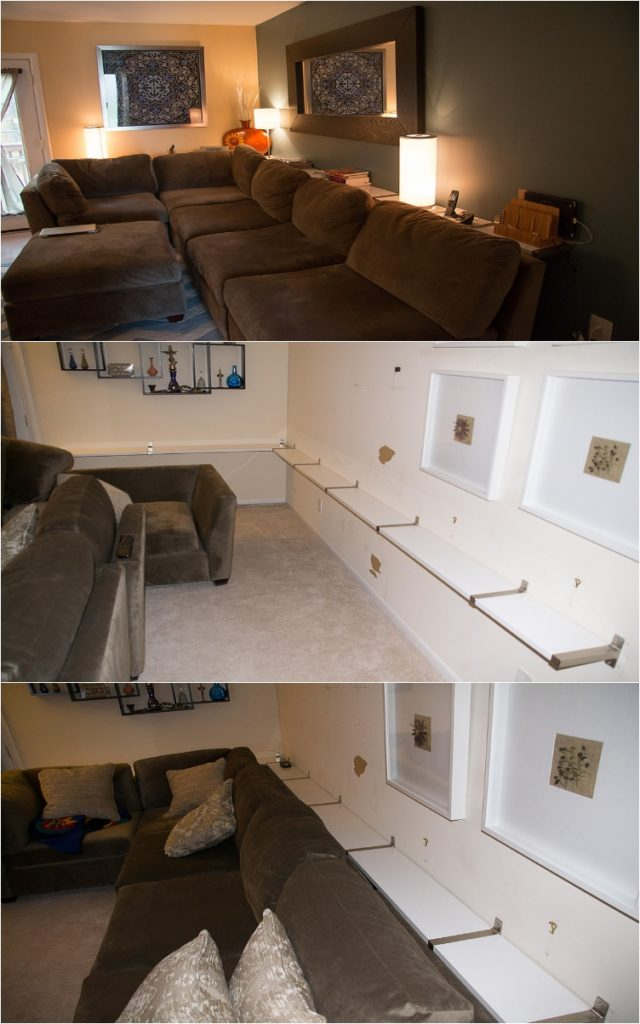 diy ιδέες για πίσω από τον καναπέ9