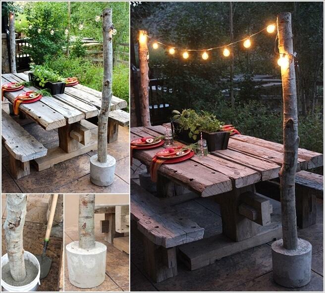 diy φωτιστικά για τον κήπο2