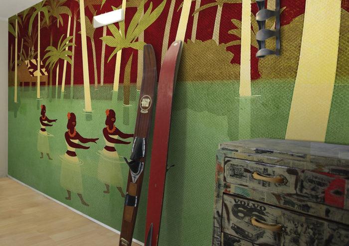 διακόσμηση τοίχου με ταπετσαρίες14
