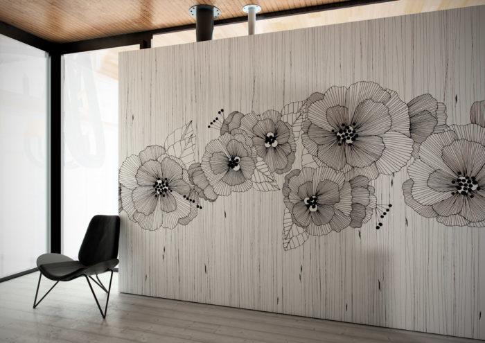 διακόσμηση τοίχου με ταπετσαρίες19