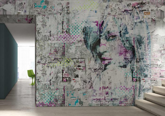 διακόσμηση τοίχου με ταπετσαρίες3