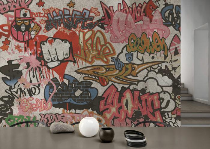 διακόσμηση τοίχου με ταπετσαρίες5