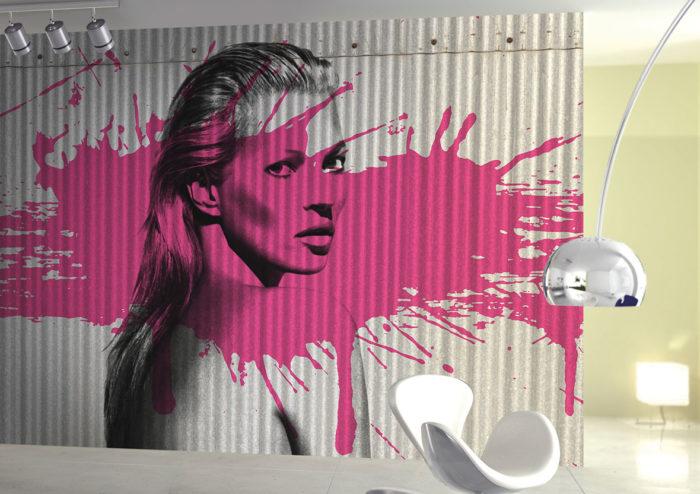 διακόσμηση τοίχου με ταπετσαρίες9