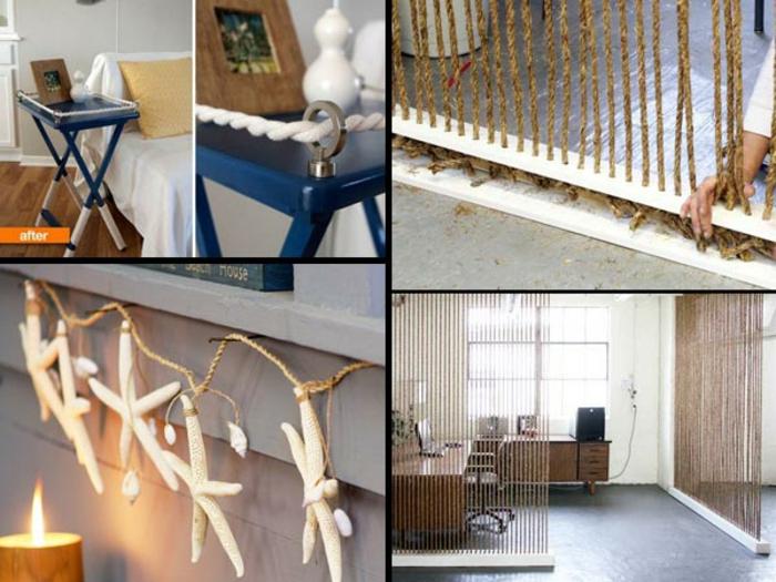 DIY ιδέες διακόσμησης από σχοινί11