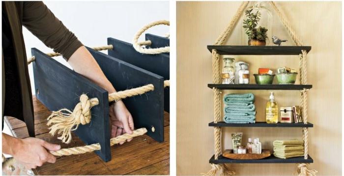 DIY ιδέες διακόσμησης από σχοινί15