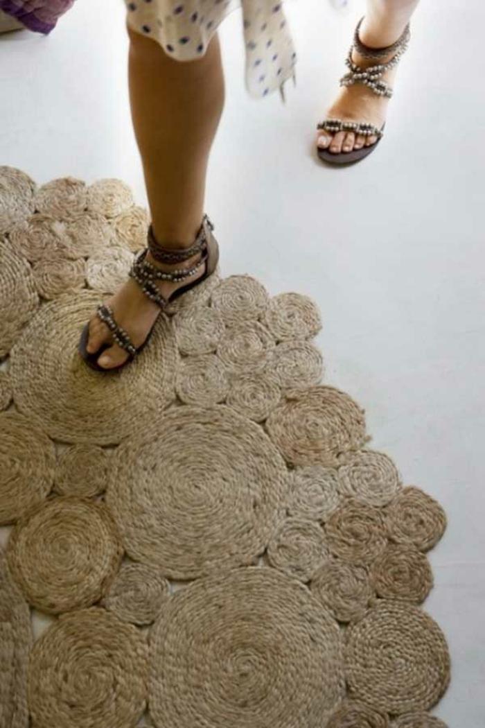 DIY ιδέες διακόσμησης από σχοινί20