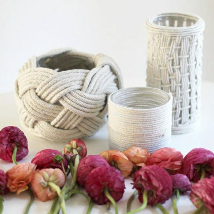 DIY ιδέες διακόσμησης από σχοινί3