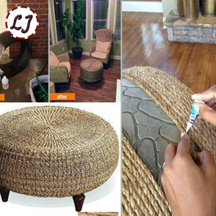 DIY ιδέες διακόσμησης από σχοινί45