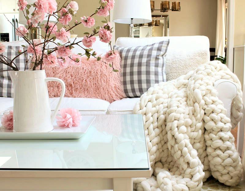 διακόσμηση με ριχτές κουβέρτες5
