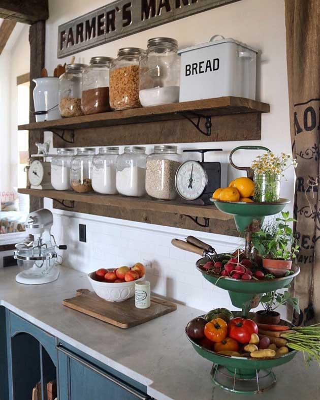 ρουστίκ, χωριάτικη διακόσμηση κουζίνας28