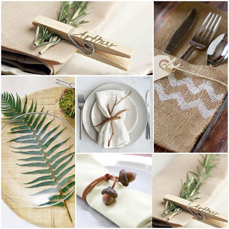 Στρώστε και διακοσμήστε το τραπέζι και διπλώστε τις χαρτοπετσέτες για ειδικές φθινοπωρινές περιπτώσεις
