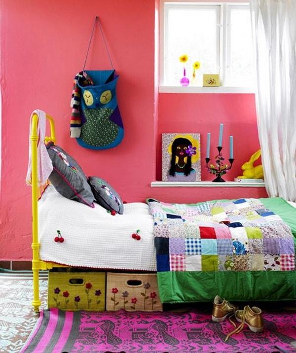 ιδέες χαμηλού προϋπολογισμού για παιδικά δωμάτια10