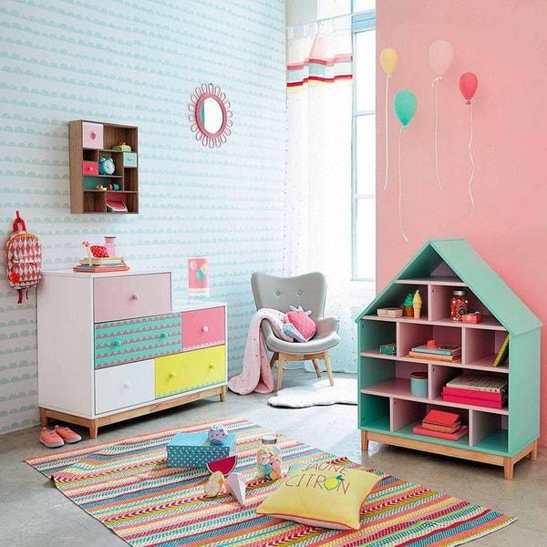 ιδέες χαμηλού προϋπολογισμού για παιδικά δωμάτια13