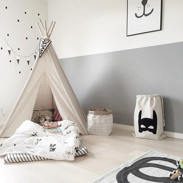 ιδέες χαμηλού προϋπολογισμού για παιδικά δωμάτια14