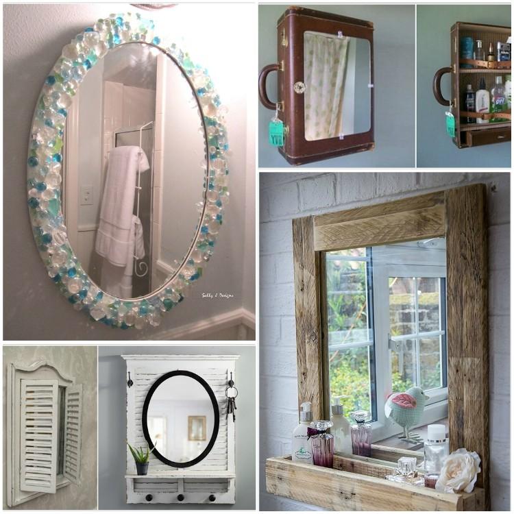 ιδέες DIY καθρέφτη