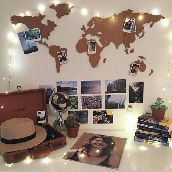 DIY ταξιδιωτικά εμπνευσμένες Decor Ιδέες17