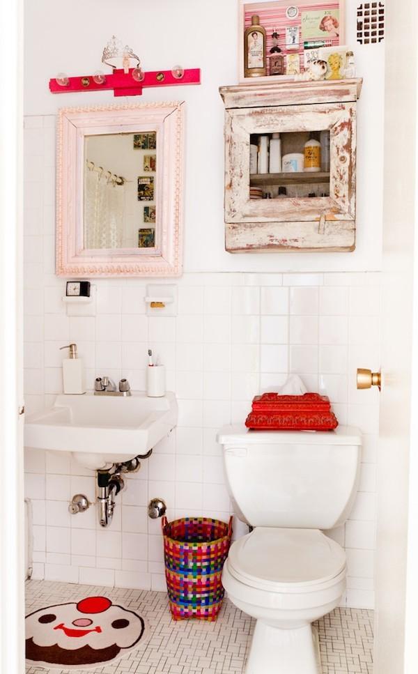 Shabby Chic διακοσμήσεις μπάνιου15