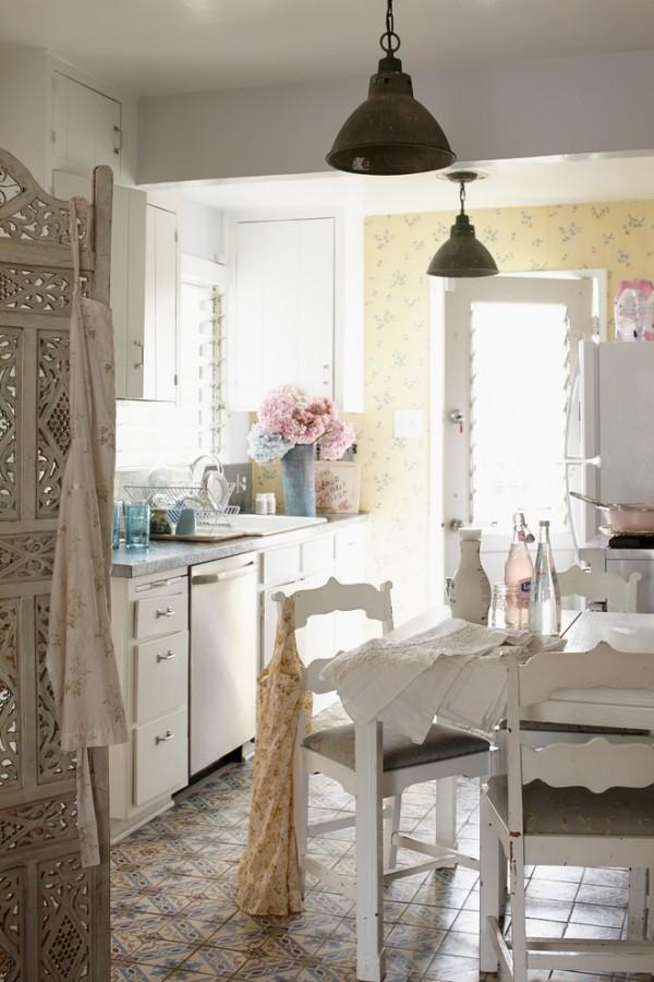 Shabby Chic κουζίνα1