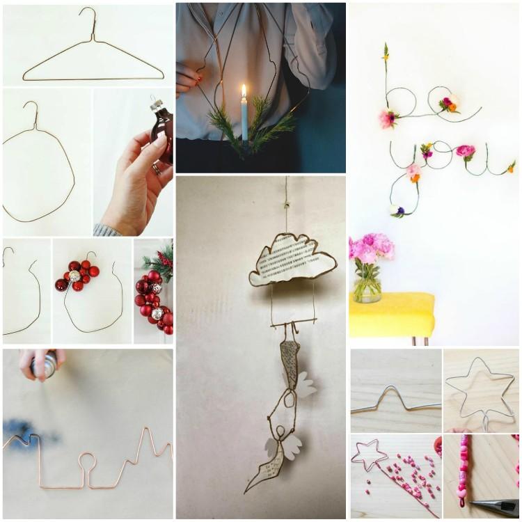 Τι μπορείτε να κάνετε με συρμάτινες κρεμάστρες - Πάνω από 35 ιδέες DIY ιδέες