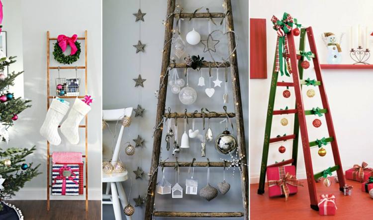 Διακοσμήστε μια σκάλα για τα Χριστούγεννα - Δημιουργικές ιδέες για μια εορταστική διάθεση