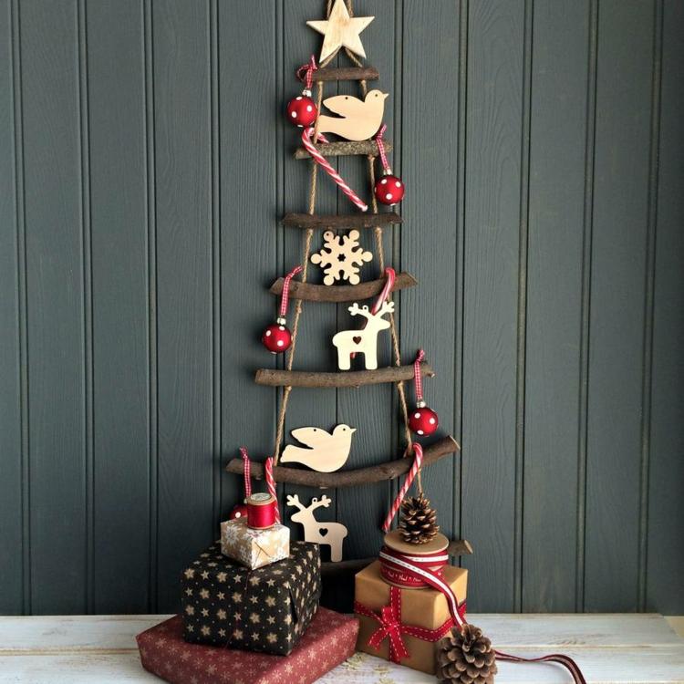 Διακοσμήστε μια σκάλα για τα Χριστούγεννα10