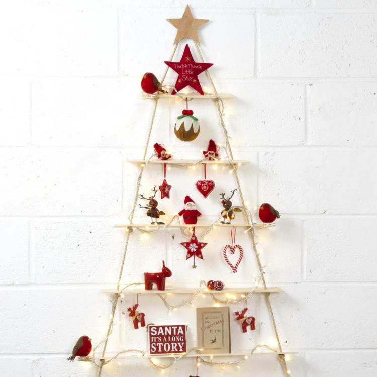 Διακοσμήστε μια σκάλα για τα Χριστούγεννα11