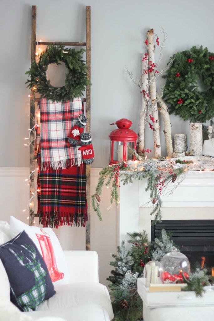 Διακοσμήστε μια σκάλα για τα Χριστούγεννα15