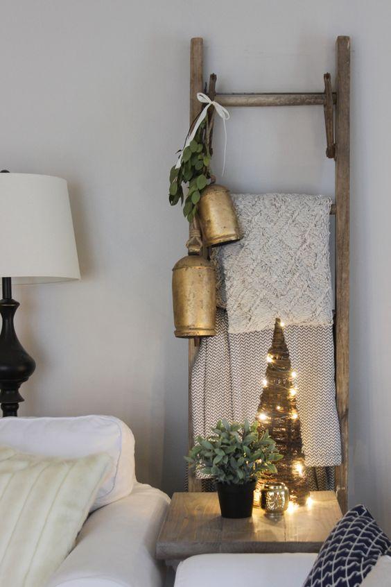 Διακοσμήστε μια σκάλα για τα Χριστούγεννα17
