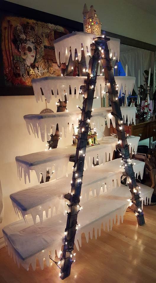 Διακοσμήστε μια σκάλα για τα Χριστούγεννα23