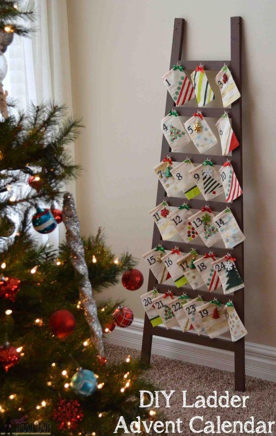 Διακοσμήστε μια σκάλα για τα Χριστούγεννα26