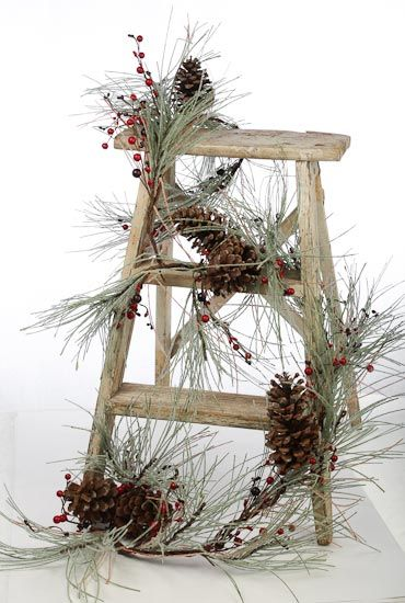 Διακοσμήστε μια σκάλα για τα Χριστούγεννα28